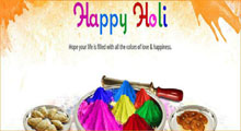 Holi Festival Day is Auspicious