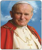 St. Pope John Paul II - Was blessed being Born during Solar Eclipse