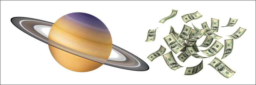 Saturn Makes One Rich