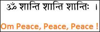 Peace-Mantra