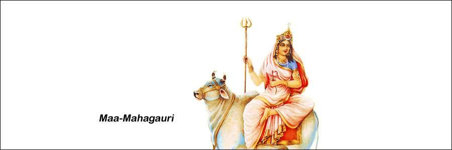 Maa Mahagauri Eighth day of Navratri