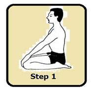 Mandukasana-step-1